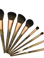 cheap -8 pcs Makeup Brush Set Blush Brush Eyeshadow Brush Lip Brush Powder Brush Foundation Brush Squirrel Nylon Synthetic Hair Others