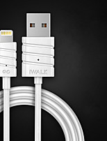 cheap -Lightning USB Cable Adapter Quick Charge Cable For iPhone 200 cm Plastics