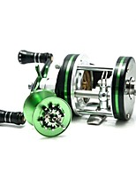 cheap -Fishing Reel Baitcast Reels 5.2:1 10 Ball Bearings Right-handed Left-handed Sea Fishing Bait Casting Spinning Freshwater Fishing Trolling