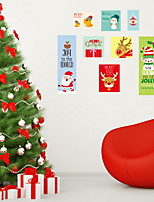 Christmas Wall Stickers Plane Wall Stickers Decorative Wall Stickers,Vinyl Home Decoration Wall Decal Window Wall