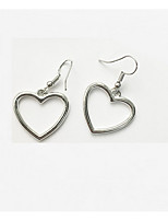 cheap -Women's Drop Earrings Sweet Lovely Alloy Heart Jewelry Party Daily
