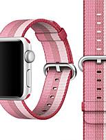 Недорогие -Группа часов для яблока смотреть королевские тканые нейлоновый браслет браслет браслет браслет 38 мм 42 мм