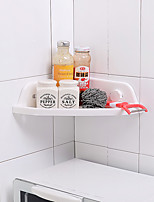 Bathroom Shelf Others PP Bathroom Shelf Plastics Surface Mounted