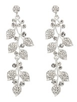 Women's Drop Earrings Classic Elegant Imitation Diamond Alloy Jewelry Wedding Party