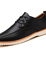 cheap -Men's Shoes PU Spring Fall Driving Shoes Oxfords for Casual Brown Black