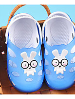 Недорогие -Девочки обувь КожаПВХ Весна Лето Удобная обувь Тапочки и Шлепанцы для Повседневные Лиловый Зеленый Синий Розовый