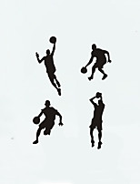cheap -People Sports Wall Stickers Plane Wall Stickers Decorative Wall StickersVinyl Home Decoration Wall Decal Window Wall