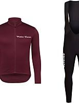 Недорогие -Wisdom Leaves Велокофты и велокомбинезоны Универсальные Длинный рукав Велоспорт Джерси Наборы одежды Одежда для велоспорта