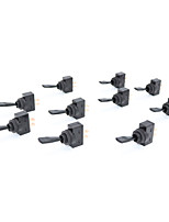 cheap -10 Pcs 20A 12VDC 10A 125VAC 2 Pins ON/OFF 12mm Thread Dia Toggle Switch