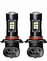 abordables -2 unids hyundai elantra foglight bombilla fábrica diseño de patrón de iluminación elantra foglight 9005 21 w 2100lm 6000 k bombillas led
