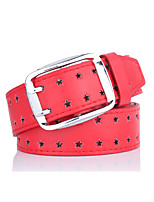 cheap -Women's Alloy Waist Belt,Yellow Red Black White Brown Vintage Work Casual Stars Vintage Style Stylish Hollow Out