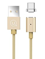 USAMS USB 2.0 Connect Cable USB 2.0 to USB 3.0 Type C Connect Cable Male - Female 1.2m(4Ft)