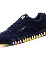 abordables -Hombre Zapatos Cachemira Primavera Otoño Confort Zapatillas de deporte para Casual Negro Gris Rojo Azul