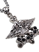 cheap -Men's Skull Classic Hiphop Pendant Necklace Chain Necklace , Alloy Pendant Necklace Chain Necklace , Carnival Bar