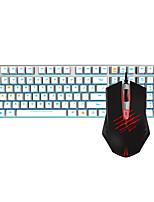 abordables -dareu con cable teclado mecánico ratón negro cambia 1,8 m seis teclas 2000dpi