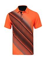 economico -Per uomo Manica corta Golf T-shirt Allenamento Traspirabilità Golf