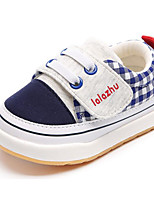 cheap -Baby Shoes Fabric Winter Fall Comfort First Walkers Sneakers for Casual Red Peach Dark Blue White