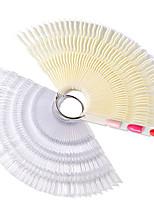 preiswerte -Salon-Nagel-Werkzeug-Anzeigetafel 150 Farbe Bambus-Farbtonplatte Farbtonplatte drei in einem Nagellackfarbplatte