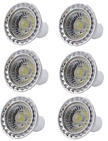 cheap -6pcs Dimmable 5W COB SPotlight GU10 Warm/Cool White 400lm LED Bulb Light AC110/220V