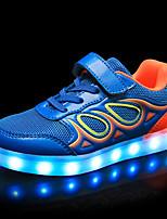 economico -Da ragazzo Scarpe Sintetico Tulle Primavera Estate Comoda Scarpe luminose Sneakers Stampa animal Chiusura a strappo o bottoncino LED per