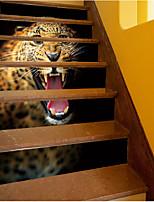 Животные Наклейки Простые наклейки Декоративные наклейки на стены,Винил Украшение дома Наклейка на стену Пол