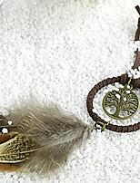 cheap -Fairytale Theme Keychain Favors Feather Keychain-1