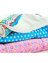 Cat Dog Bed Pet Blankets Geometric Stars Rainbow Pink Blue Red Gray