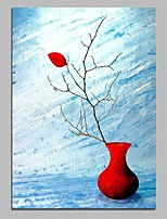 cheap -Hand-Painted Still Life Vertical,Modern Canvas Oil Painting Home Decoration One Panel