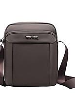 cheap -Men Bags Oxford Cloth Shoulder Bag Zipper for Casual Outdoor Winter Fall Brown Black Blue