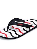 Men's Shoes EVA Spring Summer Light Soles Slippers & Flip-Flops Null Side-Draped for Casual Black/Green Black/Red Black