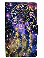 cheap -Dream Catcher Pattern Card Holder with Stand Magnetic PU Leather Case for Samsung Galaxy Tab A 8.0 (2017) T380 T385 8.0 inch Tablet