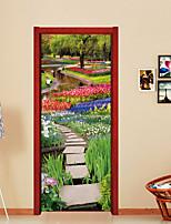 Романтика Пейзаж Наклейки 3D наклейки Декоративные наклейки на стены,Винил Украшение дома Наклейка на стену Стена