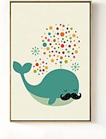 abordables -Animal Ilustraciones Arte de la pared,Poliestireno Material con Marco For Decoración hogareña marco del art Dormitorio Comedor