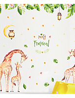 abordables -Animales Animal Pegatinas de pared Calcomanías de Aviones para Pared Calcomanías Decorativas de Pared,Papel Decoración hogareña Vinilos