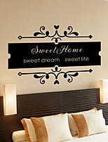 Romance Wall Stickers Plane Wall Stickers Decorative Wall Stickers,Vinyl Home Decoration Wall Decal Wall