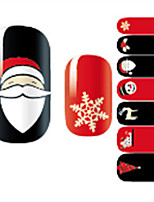 cheap -1 Nail Decals Nail Sticker Multi-Color Assorted Colors Nail Art Design Decoration