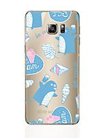 Недорогие -Кейс для Назначение SSamsung Galaxy S8 Plus S8 С узором Задняя крышка Мультипликация Мягкий TPU для S8 Plus S8 S7 edge S7 S6 edge plus S6