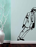люди Наклейки Простые наклейки Декоративные наклейки на стены,Винил Украшение дома Наклейка на стену Стена