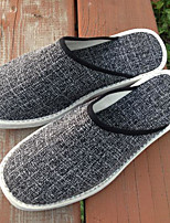 cheap -Men's Shoes Fabric Spring Fall Comfort Slippers & Flip-Flops for Casual Gray