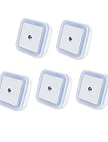 abordables -5pcs Enchufe de pared Smart Control de luz Cabecera Alimentación AC Blanco