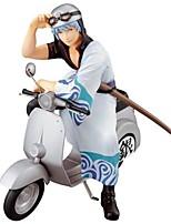 Anime figurines inspirées par gintama gintoki sakata pvc 15 cm modèle jouets poupée jouet