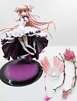 baratos -anime figuras de ação inspiradas por puella magi madoka magica madoka kaname pvc cm modelo brinquedos brinquedo boneca