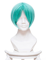 cheap -Cosplay Wigs Land of the Lustrous Airi Ban Anime Cosplay Wigs 32 CM Heat Resistant Fiber Male