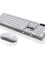 perseguindo a pantera q17 wired usb interface office mouse 3 botão ajustável dpi keyboard keyboard à prova d'água
