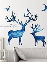 preiswerte -Abstrakt 3D Wand-Sticker Flugzeug-Wand Sticker Dekorative Wand Sticker,Papier Haus Dekoration Wandtattoo Wand