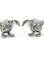 cheap -Geometric Silver Cufflinks Alloy Lovely Fashion Gift Office & Career Men's Costume Jewelry