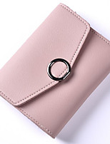 cheap -Women Bags PU Coin Purse Buttons for Casual All Season Khaki Sky Blue Light Gray Blushing Pink Red