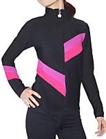 Недорогие -Лосины для фигурного катания Куртка и штаны для фигурного катания Жен. Девочки Катание на коньках Брюки Спортивный костюм Верхняя часть