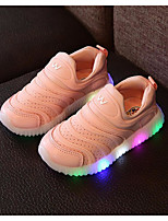 cheap -Girls' Shoes Fabric Spring Fall Comfort Sneakers for Casual Pink Green White