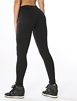 cheap -Women's Running Tights Stretchy Pants / Trousers Yoga Running/Jogging Polyester Spandex Tight Grey Dark Grey Black XL L M S